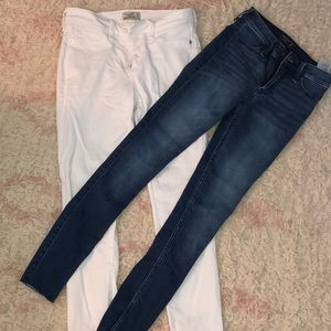 BUNDLE!!!! a&f classic essential skinny jeans